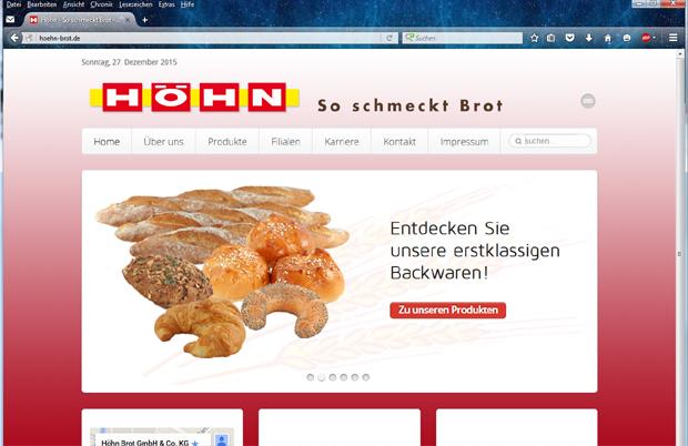Höhn Brot - So schmeckt Brot